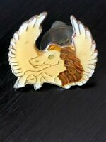 Collectible Vintage Horse With Wings Colorful Metal Pinback Hat Pin Lapel Pin