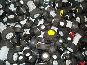 Lego x10 Set's of Wheels/Axles Mixed Colours/Sizes Small/Medium/Large!