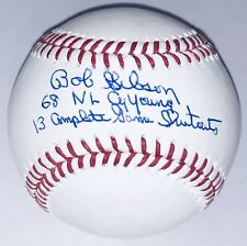 Bob Gibson signed St. Louis Cardinals autograph inscribed MLB auto baseball JSA