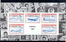 GUERNSEY-SARK EUROPA 1966 + JFK SHEETLET UNMOUNTED MINT