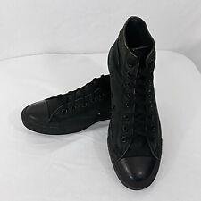 Converse All Stars Chuck Taylor Model 3310 High Tops Men's 10 Black Tennis Shoes