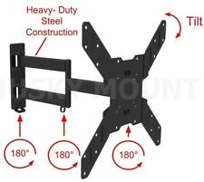 TV Wall Mount Bracket Full Motion Tilt Swivel 32 40 42 47 50 52 55 Inch LCD LED