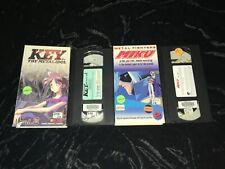 Key, the Metal Idol #2 / Metal Fighters Miku #2 (VHS, 1994-95) Vintage Anime Lot