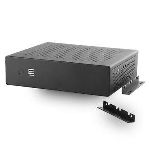MITXPC MX500 Industrial Fanless Mini-ITX Case w/ WallMount Bracket