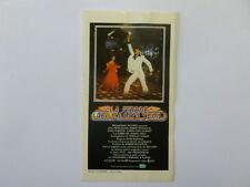 VECCHIO ADESIVO /Old Sticker Gamberini FEBBRE SABATO SERA JOHN TRAVOLTA (cm7x12)