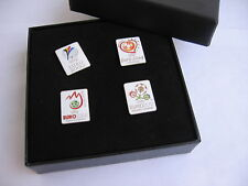 EURO 2000 - EURO 2012 set of badges - OFFICIAL UEFA pins VERY RARE