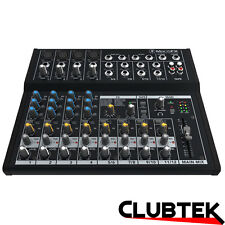 Mackie Mix12Fx Compact 12-Channel Effects Mixer Live DJ Band Studio UK
