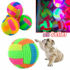 Flashing Ball Jumping Light Toy Pet Kids Dog Activation LED Puppy Bouncing