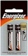 Energizer E96 AAAA Alkaline Battery - 2 Pack