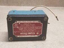 Used Honeywell EX-AR16 9607 Explosion Proof Switch