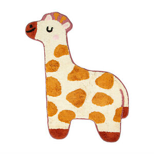 SASS & BELLE Rug Giraffe Cotton Kids Bedroom Nursey Pet