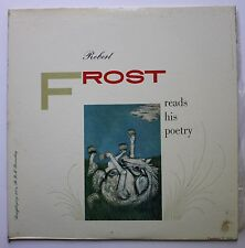 Robert Frost Caedmon Spoken Word Poetry LP 1957