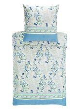 Linge de lit et ensembles bleus en satin de coton pour cuisine