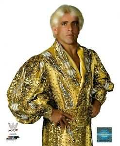 WWE RIC FLAIR OFFICIAL LICENSED ORIGINAL 8X10 WRESTLING PHOTO FILE PHOTO 7