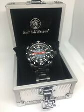 Smith and Wesson Tritium Diver Military Watch, T25 H3, Stainless Steel