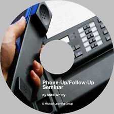 Auto Sales Training - Phone-Up/Follow-Up Seminar Audio
