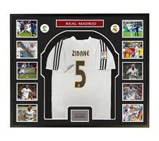 Zinedine Yazid Zidane signed shirt framed coa SA