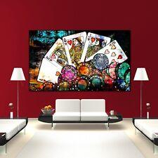 Leinwand Bilder xxl Home Herz abstraktes blau Wandbilder Wohnzimmer m-C-0253-b-m