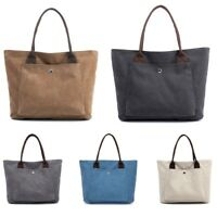 Women Canvas Casual Shopping Zipper Shoulder Bag Girl Leisure Handbag  !