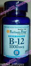 Vitamin B-12 1000mcg 100 Timed Release Caplets Heart Health Energy Metabolism