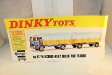 Dinky Toys 71698 Poster No.917 Mercedes all original in near mint condition