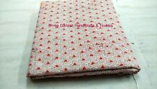 INDIAN HAND BLOCK PRINT FABRIC 10 YARD 100 % COTTON NEW FLOWER PRINT FABRIC S149
