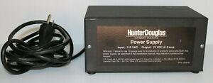 Hunter Douglas Window Fashions Power Supply 12VDC 110VAC 8amps p/n 2950705