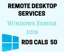 Remote Desktop Services 50 RDS CALs User/Device Windows Server 2019