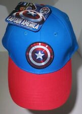 Marvel Comics Captain America: The First Avenger Blue & Red Adjustable Cap 7 Up