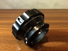 Hawk's factory Arriflex PL to Sony NEX E mount adapter Ring