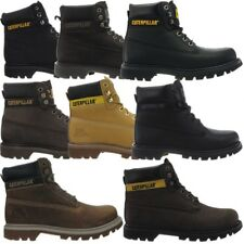 Caterpillar Colorado Schwarz Braun Beige Herren Leder Boots Stiefel 6 Farben Neu