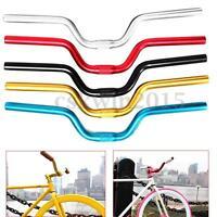 25.4mm 52cm Riser Bar for Fixed Gear Bike Bicycle Aluminum Alloy Handlebar