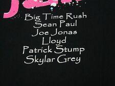 BIG TIME RUSH SEAN PAUL JOE JONAS LLOYD PATRICK STUMP  T-SHIRT-SM CONCERT