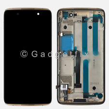 Gold Alcatel One Touch Idol 4 6055 6055P LCD Screen Touch Screen Digitizer Frame