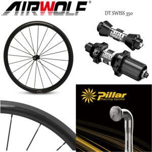 Quick Release Carbon Road Bike Wheels with DT Swiss 350 Hub Pillar 1423 Spokes