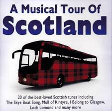 A MUSICAL TOUR OF SCOTLAND - 20 BEST-LOVED SCOTTISH TUNES (NEW SEALED CD)