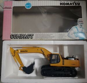 Joal 1/32 Komatsu PC 450LC 6 Diecast Excavator Articulated Truck Metal Tracks