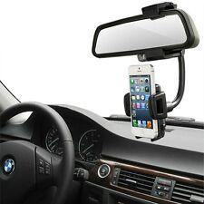 Pince Support smartphone Pince Clip Pour rétroviseur intérieur de voiture