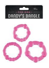 anello fallico kit tre anelli per pene sexy shop toys ring ritardanti pink ring