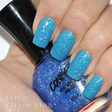 New! Confetti Nail Enamel Polish Lacquer Party Palace Blue #083 Glitter Top Coat