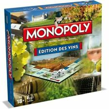 Monopoly Édition Des Vins Jeux de Société