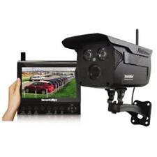 Security Man DIGIOUTLCD 4-CH Digital Wireless Security Camera w/ Monitor System