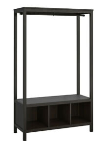 IKEA Hemnes Schrank offen Schwarzbraun *NEU* *Original Verpackt* 120x50x197 cm