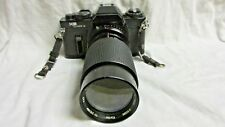 SEARS KS SUPER II 35mm CAMERA w/ VIVITAR 70-210mm LENS (FOR PENTAX)  FOR DISPLAY