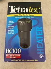 Tetratec HC100 Temp Control for Aquarium. 100 Watt Made in Italy  - New in box
