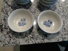 Two Vintage Pfaltzgraff Yorktowne 6 Inch Soup / Cereal Bowls