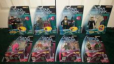 Star Trek Warp Factor LOT Kirk Spock Riker Andorian Borg Q Seven Of Nine Dax +++