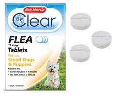 Flea Tablets SMALL DOG PUPPY Bob Martin Clear Flea Kill Treatment UK STOCK