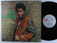 "AL GREEN~""LET'S STAY TOGETHER""~U.S.ORIG.HI 1971 1st Press STEREO ""VG/VG""~LP"