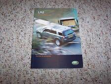 2008 Land Rover LR2 HSE & SE Factory Navigation System Owner Manual Book